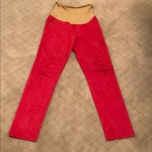 AG Pink Maternity Jeans -  Size 28